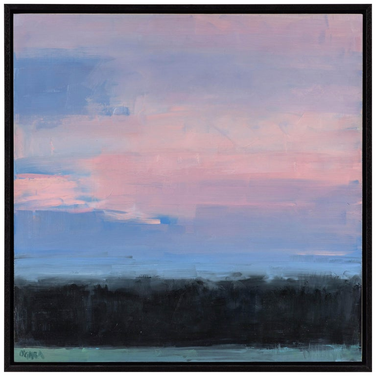 Mary J O'Gara Signed Oil Paintin, Eastern Sky
