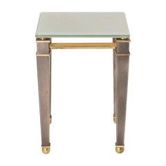 Brass Side Table by Belgo Chrome, circa 1960