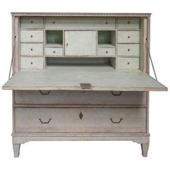 Late Gustavian Fall-Front Writing Desk