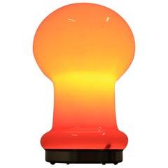 Midcentury All-Glass Lamp by Valašské Meziříčí, 1970s