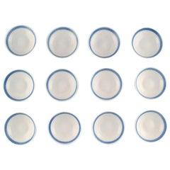 12 Pieces, Royal Copenhagen Blue Fan, Butter Pads