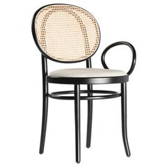 N.0 Armchair in Woven Cane by Front & GTV
