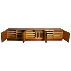 Danish Teak Cabinets by Hundevad & Co, Set of 3