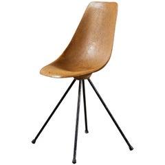 Rare Fiberglass Chair by Jean-René Picard