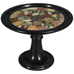 Early 19th Century Belgian Granite 'Black Marble' 'Specimen' Tazza