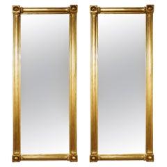 Pair of Regency Style Mirrors