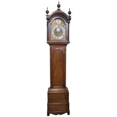 8 Day Brass, Arch Dial Clock