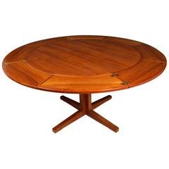 Flip Flap Table by Dyrlund in Teak, circa 1960