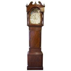 Mahogany and Cross Banded 8 Day Longcase Clock
