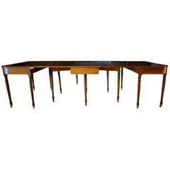 18th Century Mahogany Drop-Leaf Dining Table