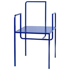 Wei Contemporary Chair in Metal