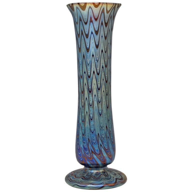 Vase Loetz Widow Klostermuehle Bohemia Art Nouveau Phaenomen Genre 6893
