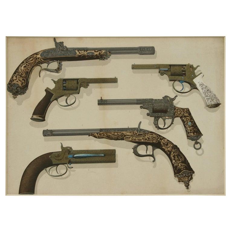 Firearm Prints For Sale