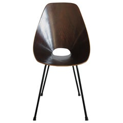 1950s Vittorio Nobili Italian Dining Chair Model Medea for Fratelli Tagliabue