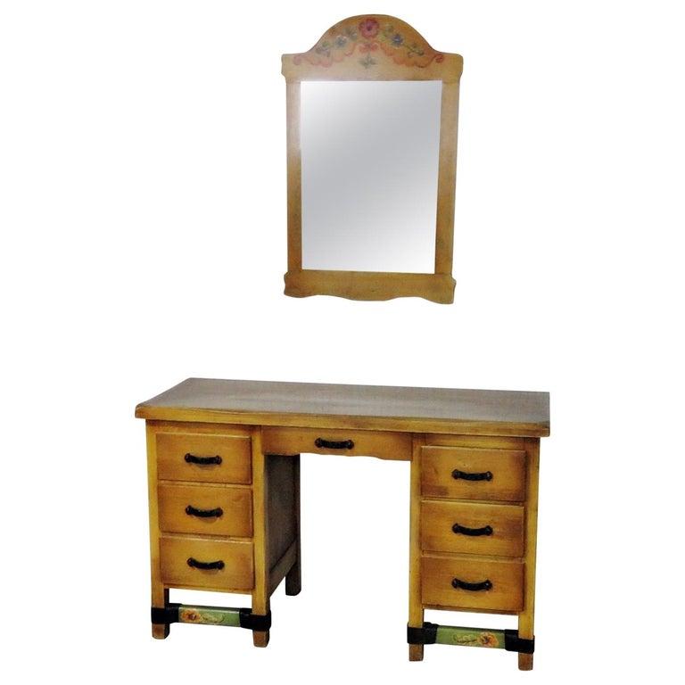 Monterey Style Vanity with Mirror