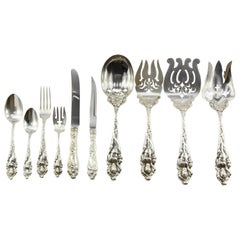 Reed & Barton Sterling Silver Love Disarmed Set of 76 Pieces for 12