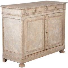 French Louis XVI Style Painted Buffet, Early 1900s