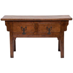 19th Century Chinese Courtyard Console Table