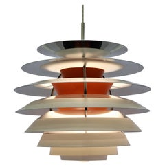 PH Contrast Pendant by Poul Henningsen, 1960s