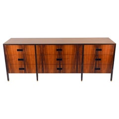 Exceptional 9-Drawer Rosewood Dresser by Harvey Probber
