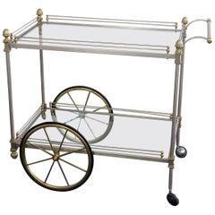 Regency Style Bar Cart