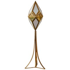 "Rare ""Kaleidoscope""  Floor Lamp by Gabriella Crespi"