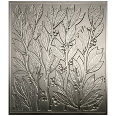 Lalique France : Lauriers Decorative Panel