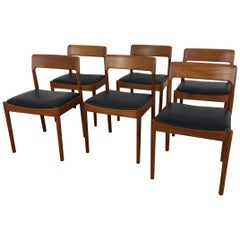 Midcentury Dining Chairs by Dalescraft