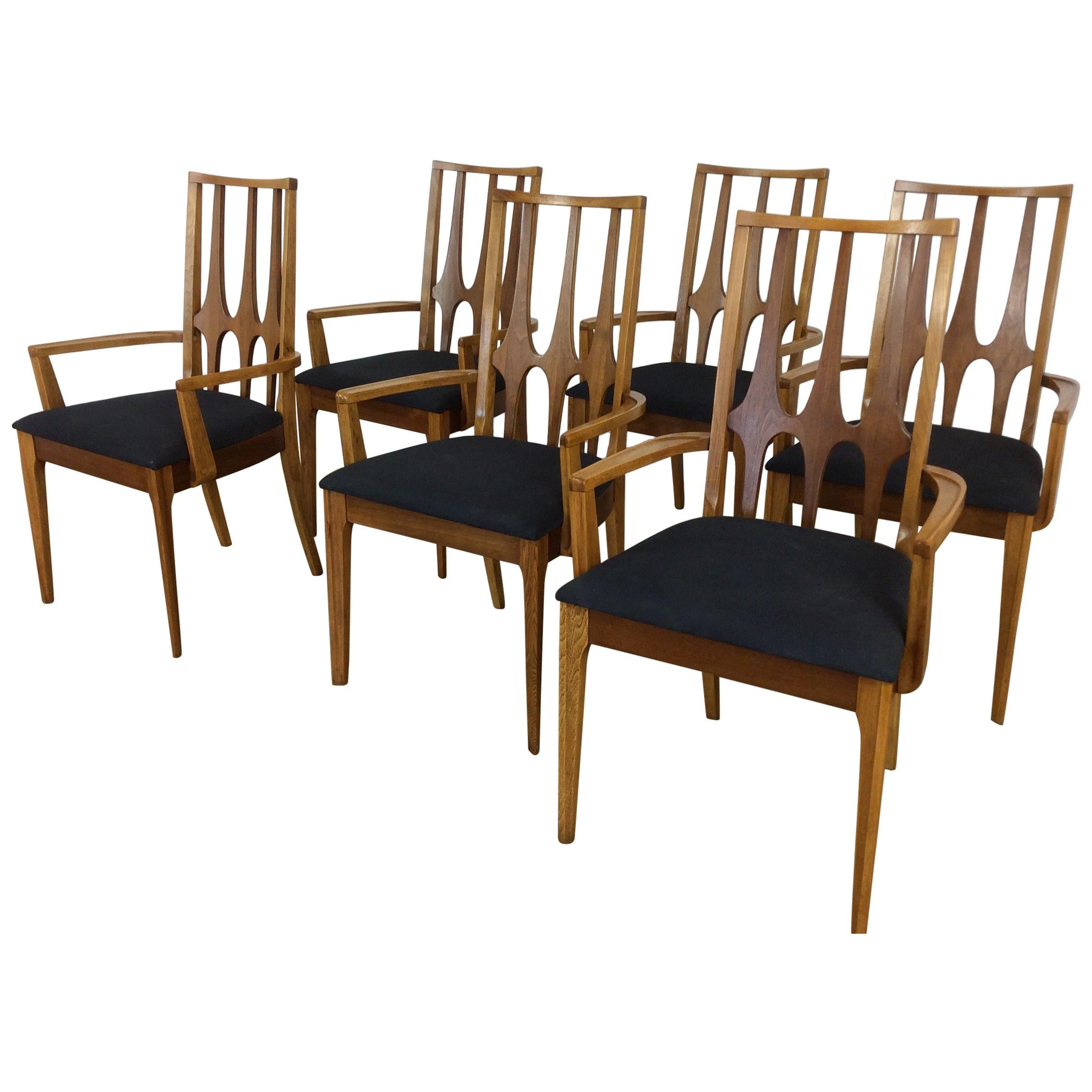 Mid Century Dining Chairs Broyhill Brasilia For Sale
