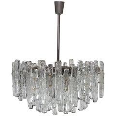Huge Tiered Glass Chandelier by J.T. Kalmar
