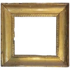 18th Century Italian Gilded wood  Frame