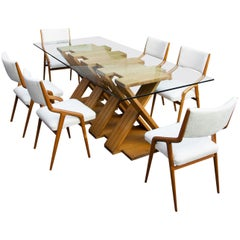 Table Attributed to Paolo Pallucco, Italy, 1970s