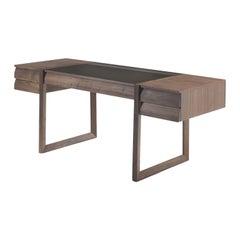 Scribe Desk in Walnut Wood