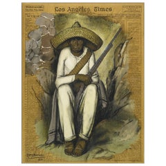Zapatista, after Spanish Colonial Oil Painting by Alfredo Ramos Martínez