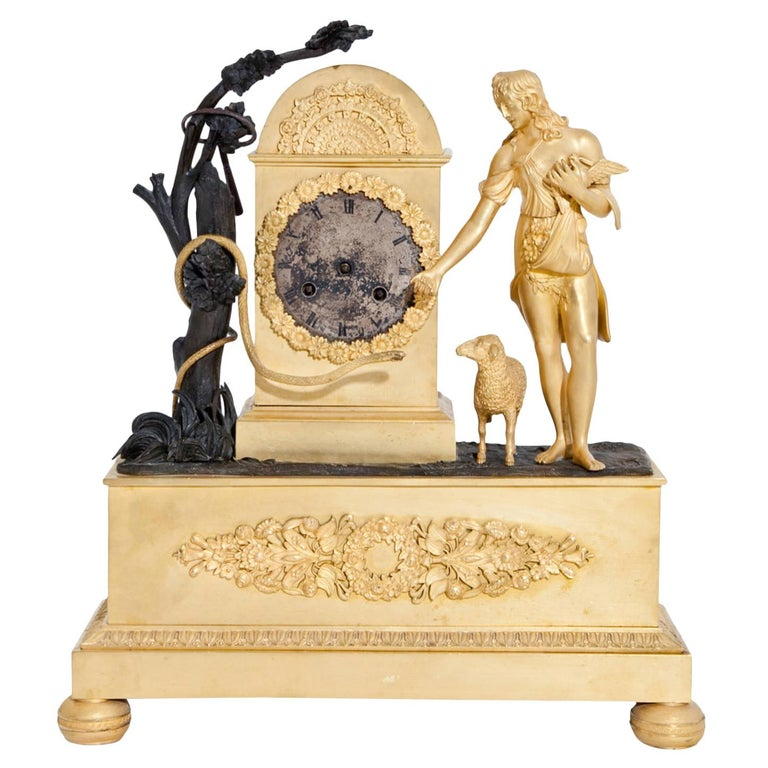 Empire Mantel Clock, France, circa 1830