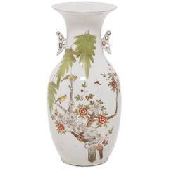 Chinese Springtime Phoenix Tail Vase