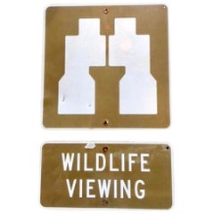 Wildlife Viewing State Park Sign