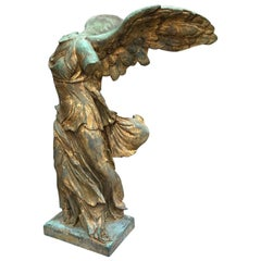 19th Century Winged Victory or Nike of Samothrace