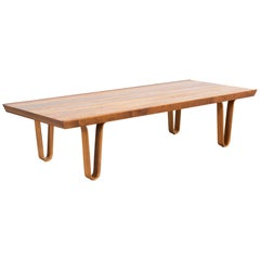 Mid-Century Modern Edward Wormley for Dunbar Long John Bench