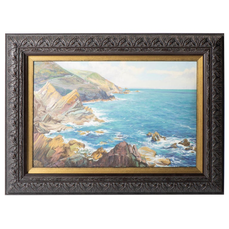 Oil on Canvas Painting by Charles Ernest Butler, England, circa 1900 For Sale