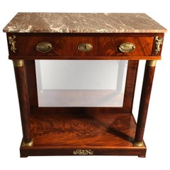 Empire Console Table, France, 1820