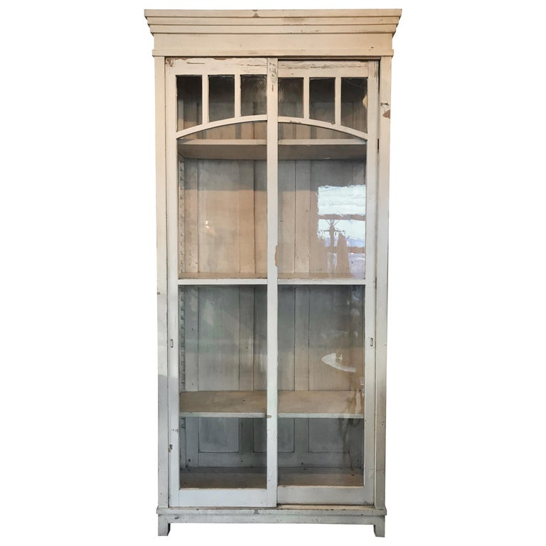 Late 19th Century Tall Cabinet from Madrid For Sale