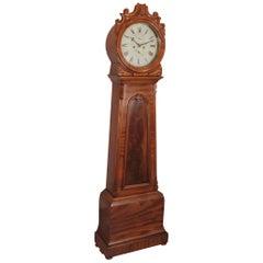 19th Century Scottish Drum Longcase Clock
