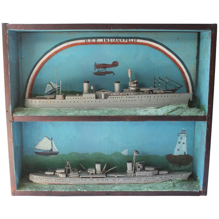 U.S.S. Indianapolis Ship Diorama