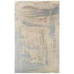 Contemporary Abstract Painterly Rug by Carini