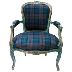 Early 19th Century Louis XV Style Fauteuil