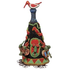 Yoruba Oba Beaded Crown