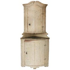 18th Century Swedish Gustavian Corner Piece