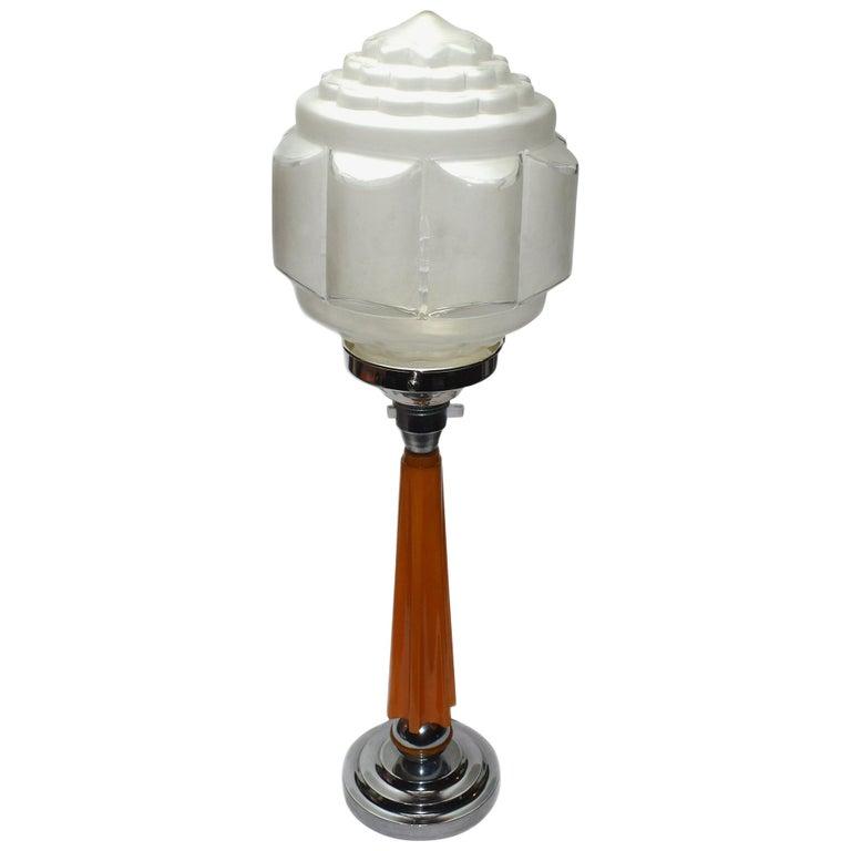 Art Deco 1930s Catalin Bakelite Lamp