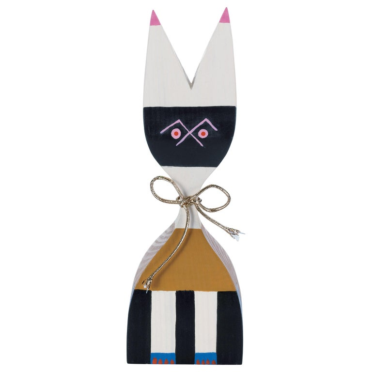 Vitra Wooden Doll No. 9 by Alexander Girard For Sale